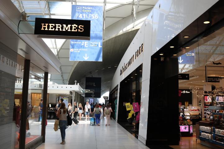 シャルル・ド・ゴール空港 免税店