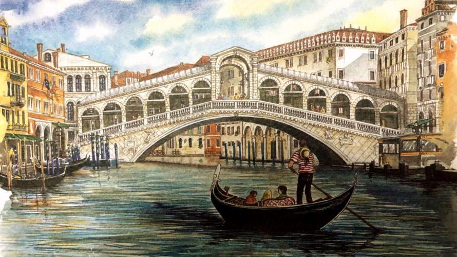 水の都ベネチアへ。夢のゴンドラ遊覧で一生の思い出になりました。