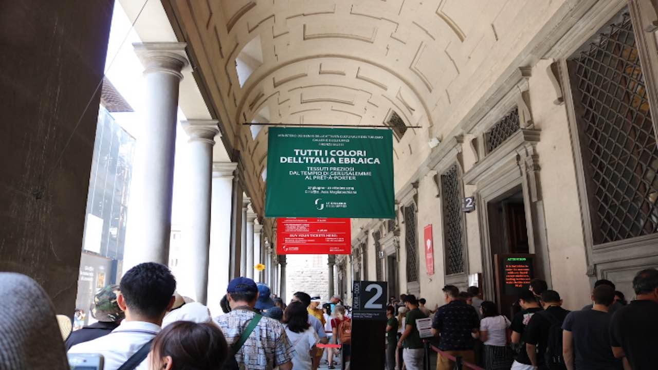 ウフィッツィ美術館へ!超有名な「ヴィーナスの誕生」