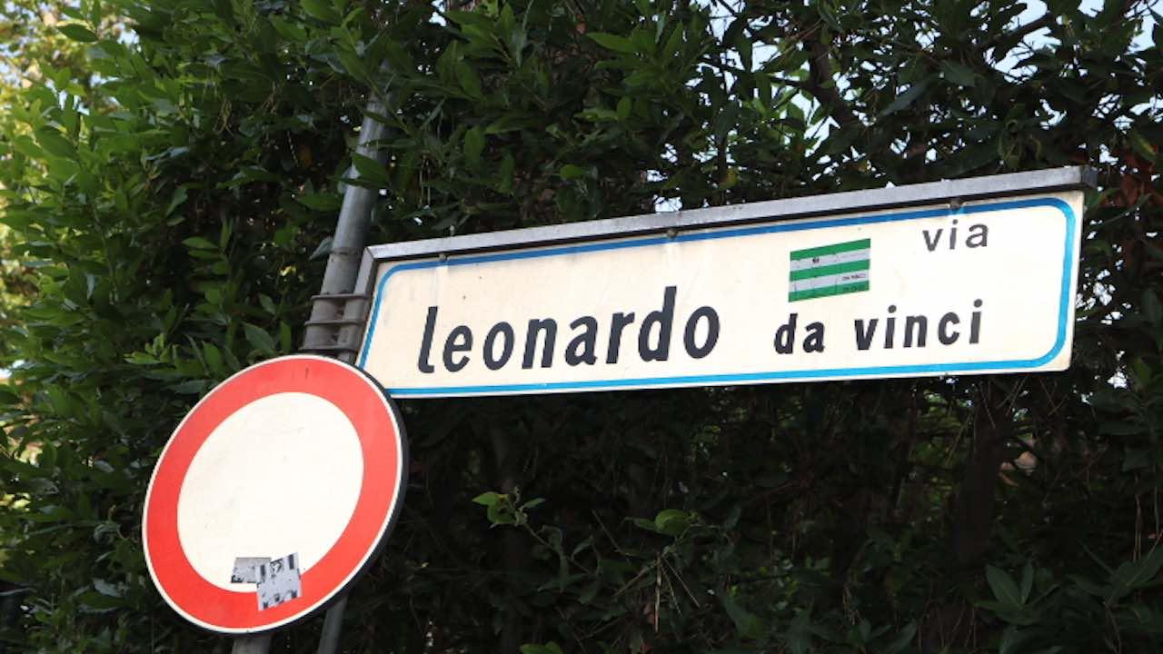 Via Leonardo da Vinci(レオナルド・ダヴィンチ通り)