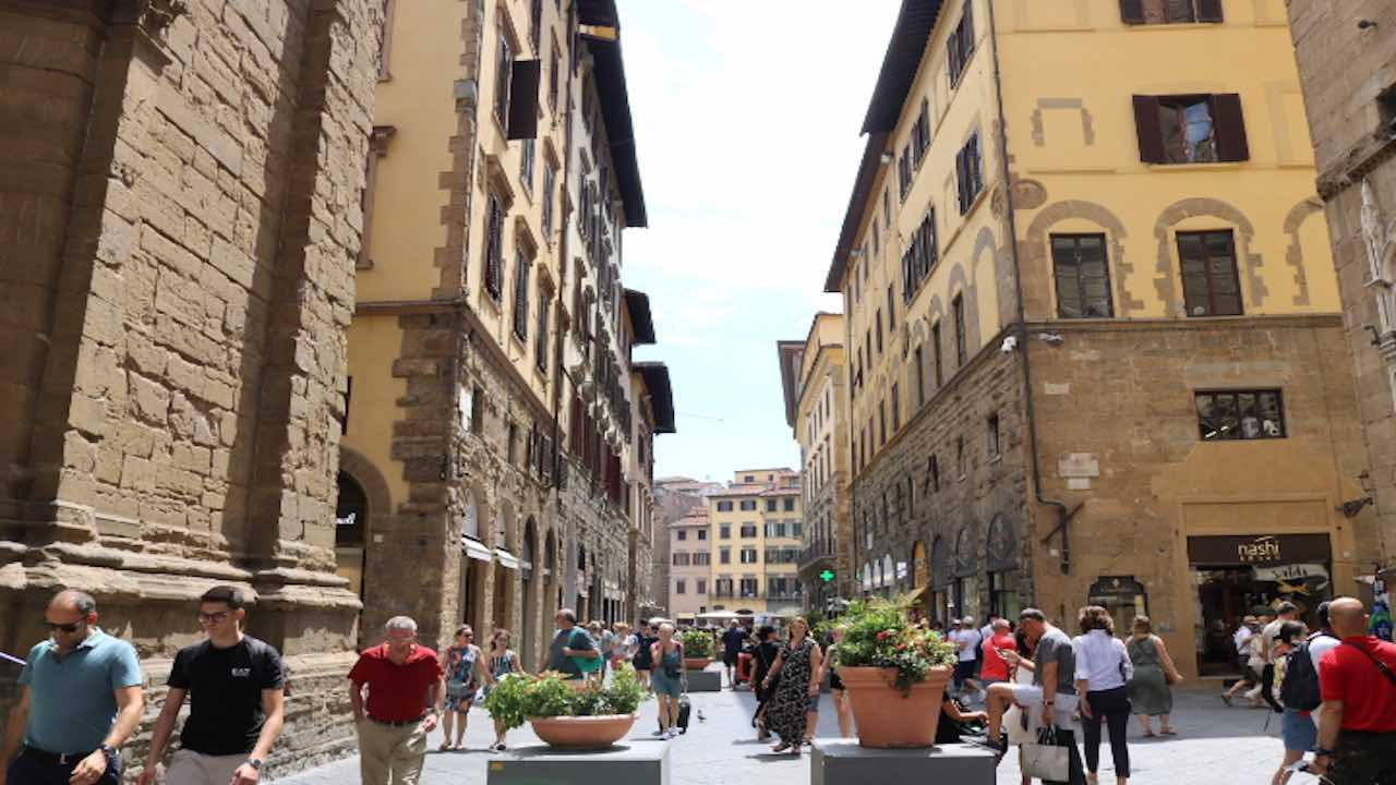 世界遺産フィレンツェ市内の観光