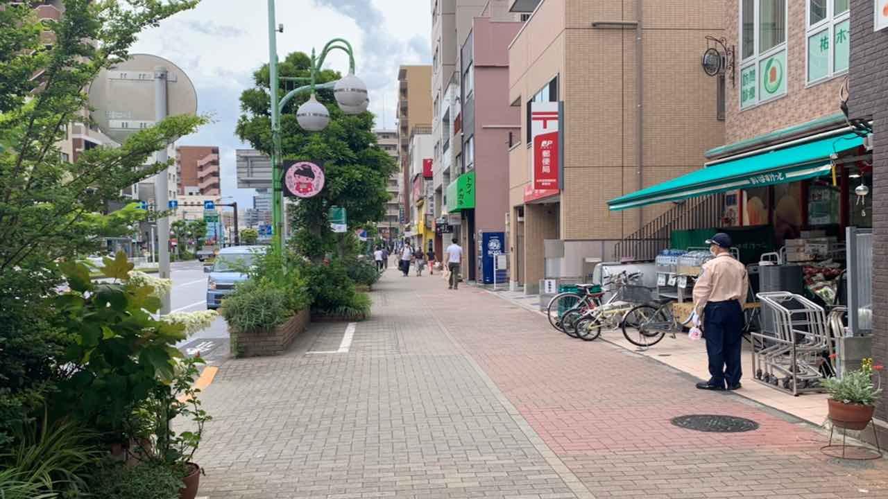 本所吾妻橋駅から「塩パン屋 パン・メゾン」への行き方