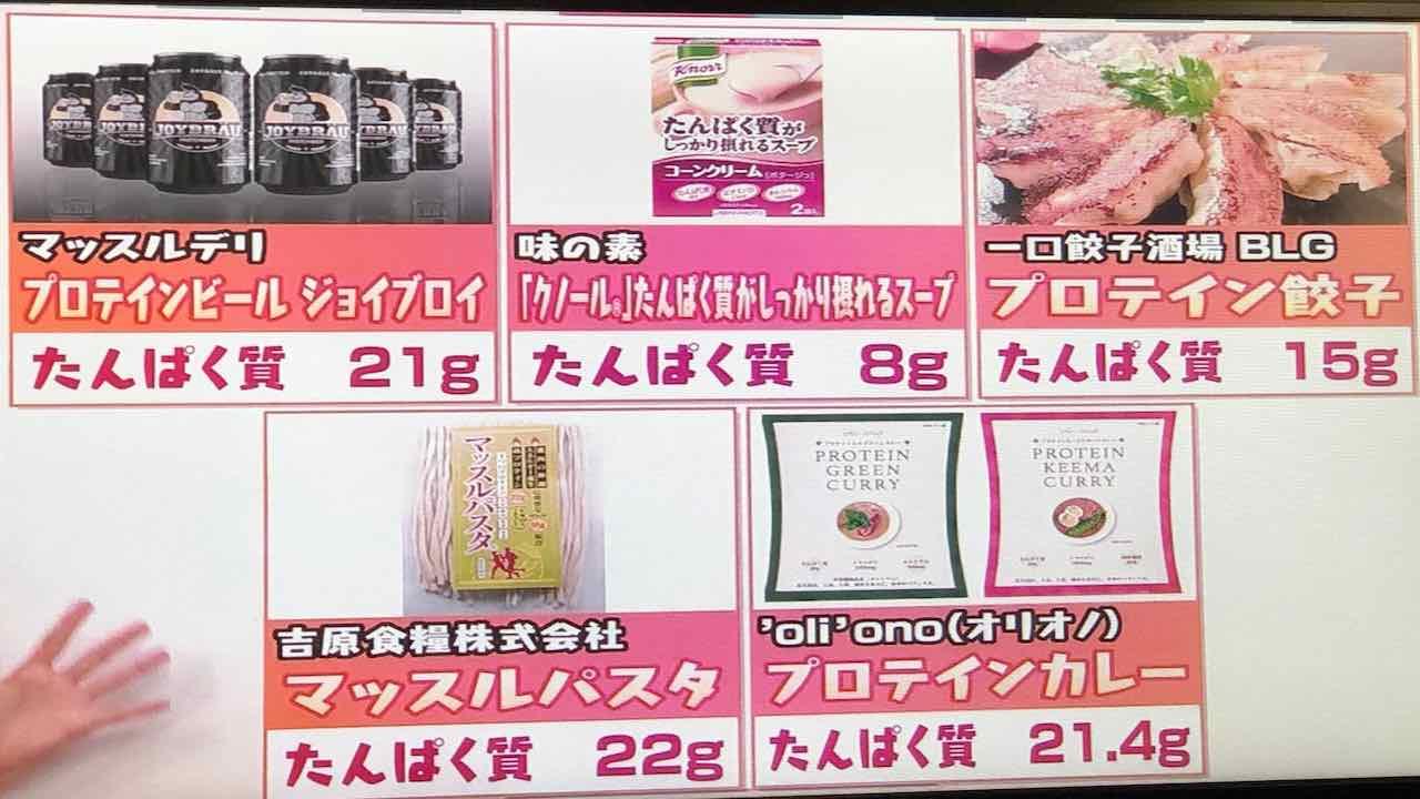 様々なプロテインの摂取方法